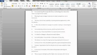 How To Set The Headers And Footers In Microsoft Word 2010