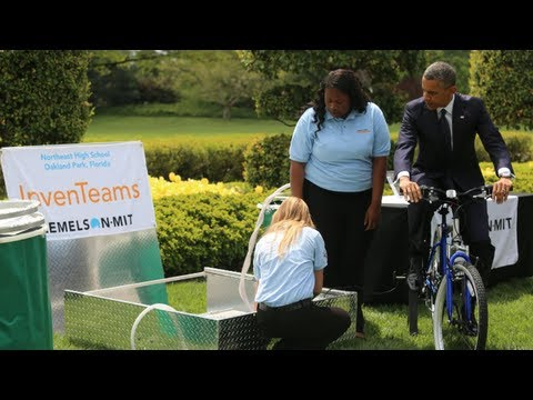 The 2013 White House Science Fair