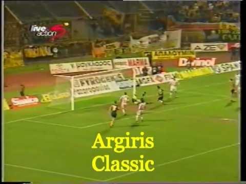 1997 - 98  ΑΕΚ - ΟΛΥΜΠΙΑΚΟΣ  1-0  ( ΜΑΡΤΣΕΛΟ )