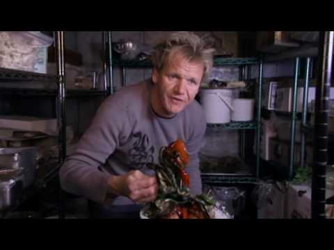 Rotten food and Broken fridge - Ramsay's Kitchen Nightmares
