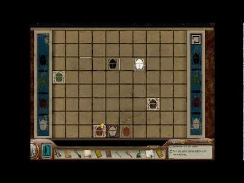 Nancy Drew: Tomb of the Lost Queen (Part 4): Hieroglyphs, Scarabs and the Four Sons of Horus, Part 4 of a video walkthrough for Nancy Drew: Tomb of the Lost Queen. In this part, Nancy lights up the burial chamber so she can get a good look at the sarc...