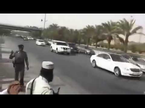 Saudi King Abdullah Security protocol360p