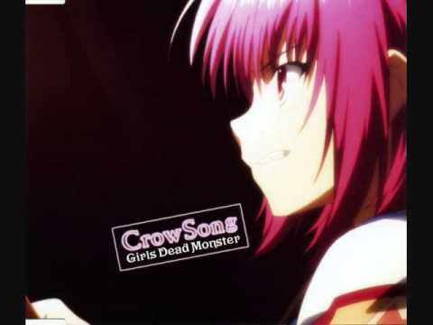 GirlDeMo(Angel Beats) - Crow Song(Lyrics In Description)