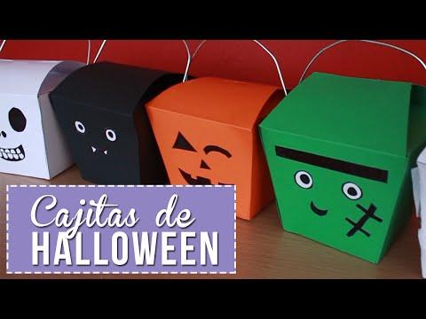 Cajitas/Dulceros para Halloween! - Sonia Alicia