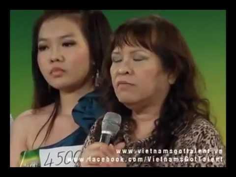 Mẹ của thí sinh Vietnam got talent ném boom BGK và chương trình - http://adu.vn