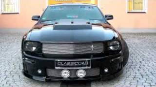 2005 FORD MUSTANG ELEANOR CERVINI EXHAUST SIDE PIPES START UP! videos
