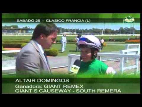Vidéo de la course PMU CLASICO FRANCIA