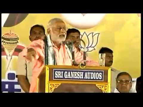 Live: Narendra Modi Rally in Chennai, Tamil Nadu