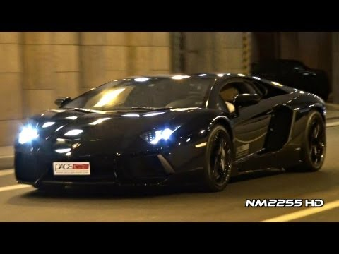 Lamborghini Aventador LP700 Start and Take Off!