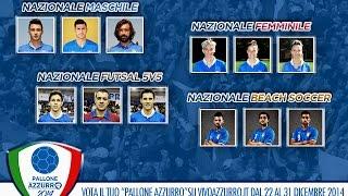 Vota il Pallone Azzurro 2014!