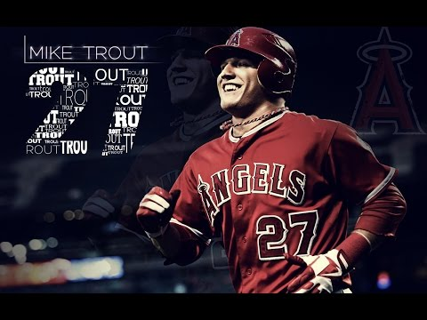 Mike Trout First Half Highlights 2014
