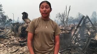 Santa Rosa fire: Coffey Park fire victim tells her story
