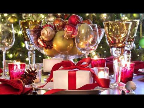 Karácsonyi terítékek, dekorációk