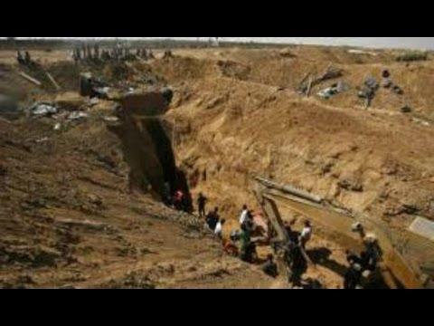 Air Strike - GAZA TUNNELS DESTROYED By Israeli Army 2014