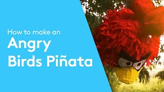 How To Make An Angry Birds Piñata Paper Mache Tutorial
