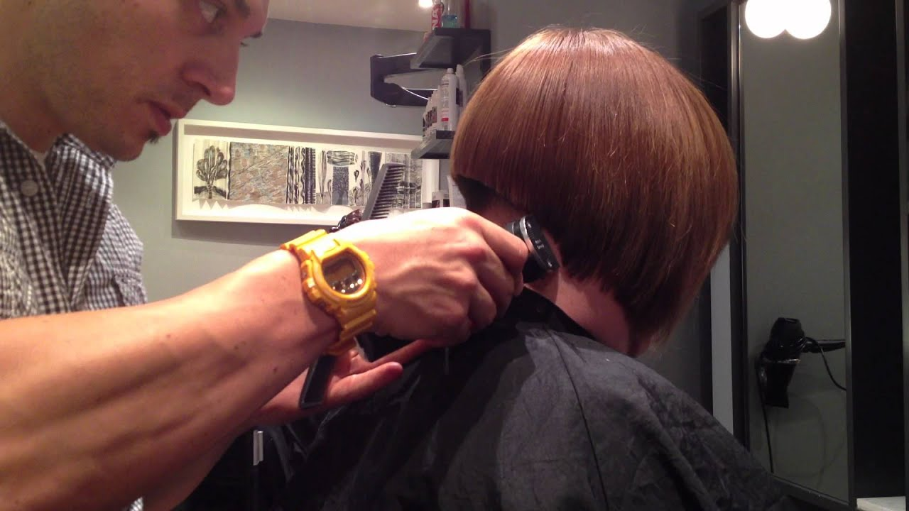 Displaying 19> Images For - Concave Bob Haircuts Back View...