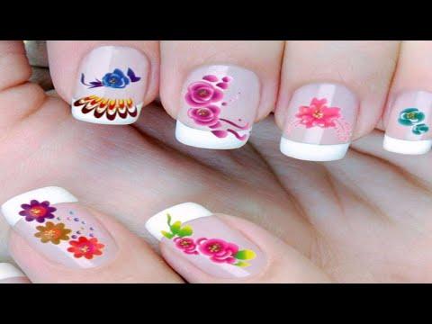 Nghệ thuật vẽ móng tay   thiết kễ mẫu nail đẹp tự nhiên [Part18]
