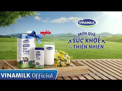 Quảng cáo sữa Vinamilk – Sữa tươi Vinamilk 100% thơm ngon tốt cho sức khỏe (20s)