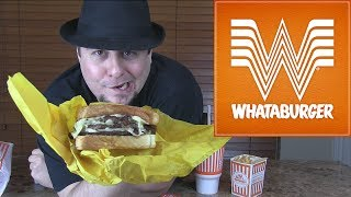Whataburger Patty Melt and Fries