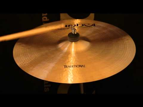"Istanbul Traditional 16"" Medium Crash Cymbal"