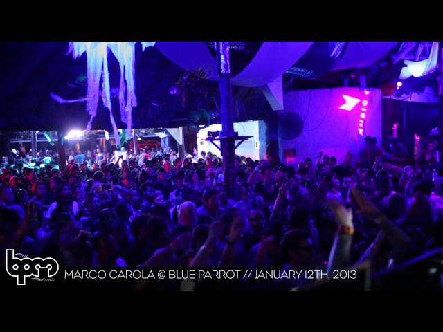 THE BPM FESTIVAL 2013: Marco Carola @ Blue Parrot