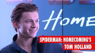Spider-man: Homecoming's Tom Holland and Chris Evans are TERRIFIED of spiders!