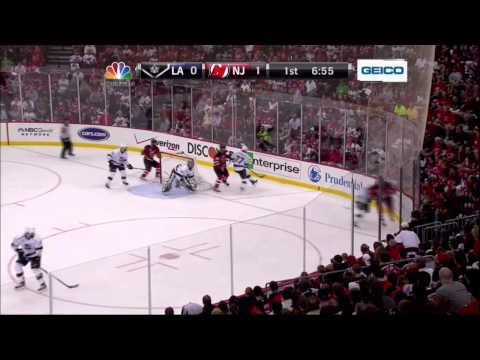 Zach Parise PPG goal. LA Kings vs New Jersey Devils Stanley Cup Game 5 6/9/12 NHL Hockey.