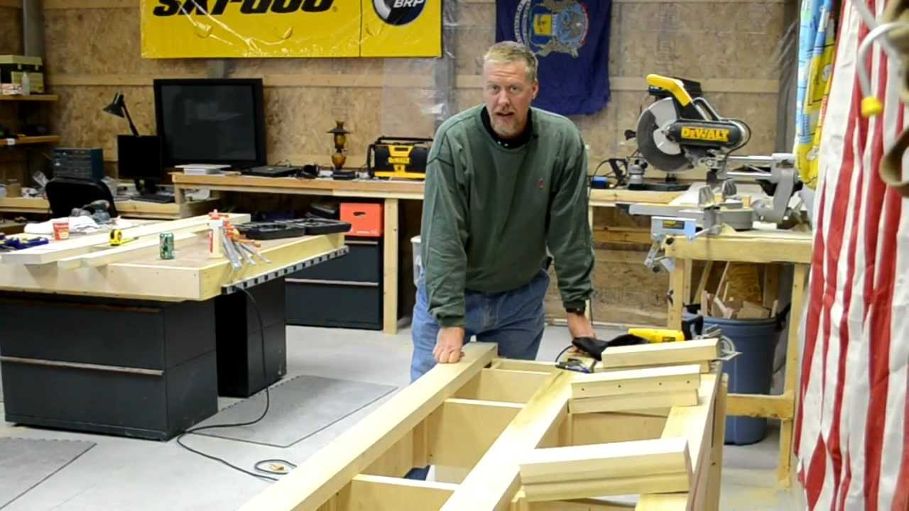 How to build a pool table part 5 efforts in frugality for How to build a billiard table