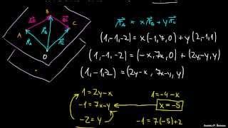 Komplanarni vektorji 2