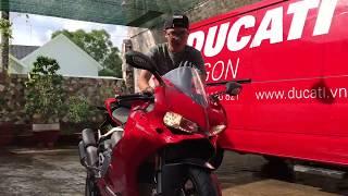 Ducati giao xe tận nhà cho khách ở Phú Quốc