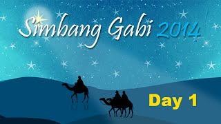 Simbang Gabi Day 1 – Dec 16