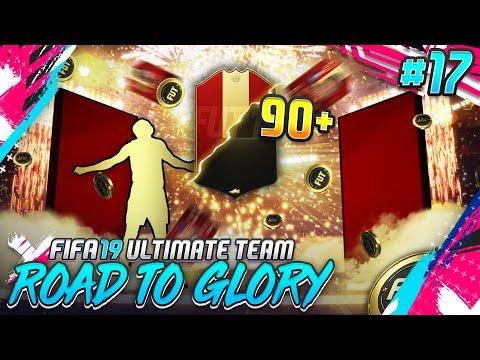 OMG 90+ WALKOUT! XXL PACK OPENING! #17 🔥💰 - FIFA 19 Road to Glory [DEUTSCH]