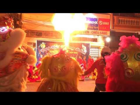 Múa lân sư tử - Trung thu Tổ 24 phường Niệm Nghĩa, quận Lê Chân, tp Hải Phòng