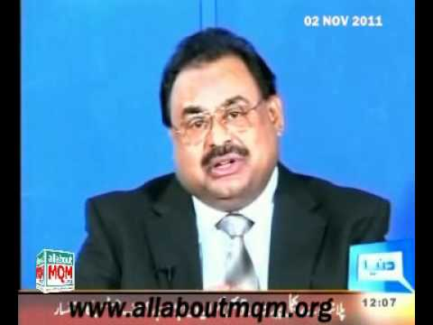 MQM wants peace & stability in Pakistan & Afghanistan : Altaf Hussain talk with Afghan Journalists