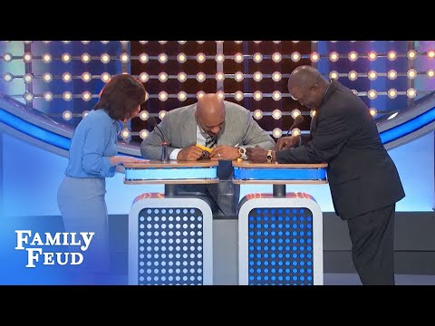 That's not the buzzer, Mike!!!   Family Feud