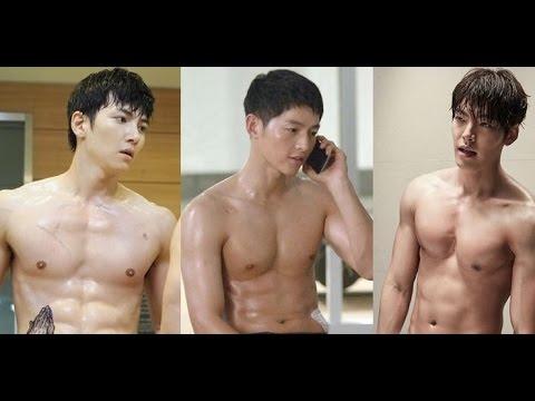 """Màn ảnh Hàn 2016 tràn ngập màn """"khoe thân"""" của mĩ nam 6 múi - Tin tức của sao"""