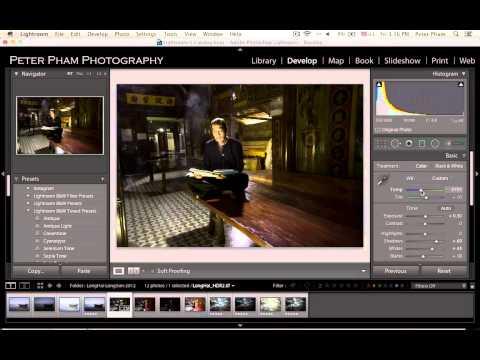 Học Lightroom - 053 Xử lý ảnh HDR có Chân Dung