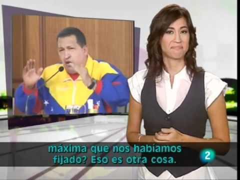 Reacción a las elecciones legislativas en Venezuela TVE 2    Noticiero para sordos   Oct 2, 2010 10 38 AM