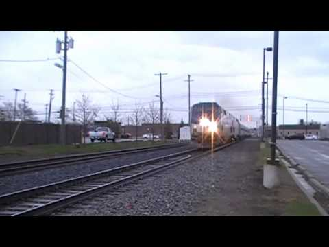 Amtrak (Wolverine + Inspection Train), 04-06-2016