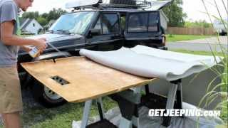 How To: Installing Headliner In 1984 2001 Jeep Cherokee