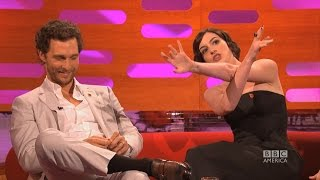 Anne Hathaway is a huge Matthew McConaughey Magic Mike Fan - The Graham Norton Show on BBC America