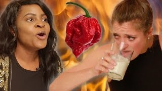 People Try The World's Hottest Pepper