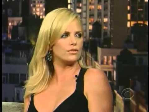 Charlize Theron   Late Show with Letterman   YouTube