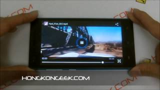 - Unboxing And Test CHINESE SMARTPHONE HTM M3 ANDROID 4