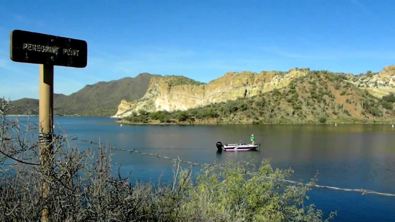 beautiful day fishing on saguaro lake in arizona youtube ForFishing Lakes In Arizona