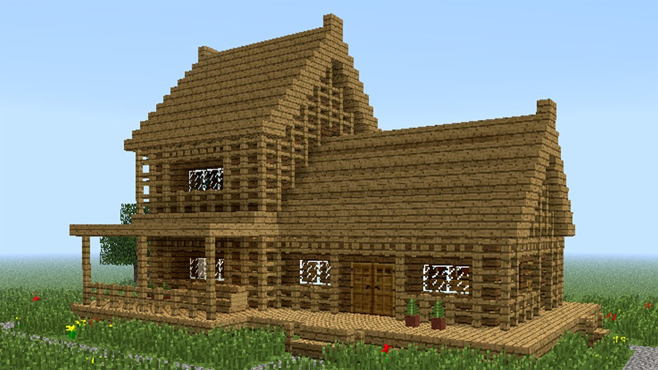 Minecraft  How To Build Little Wooden House  2