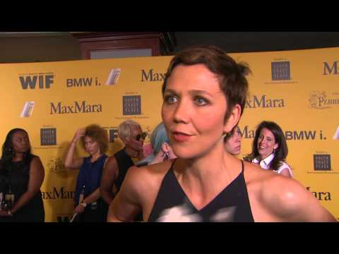 Maggie Gyllenhaal interview at the Women In Film 2014 Crystal + Lucy Awards