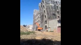 Building Collapses Accidentally