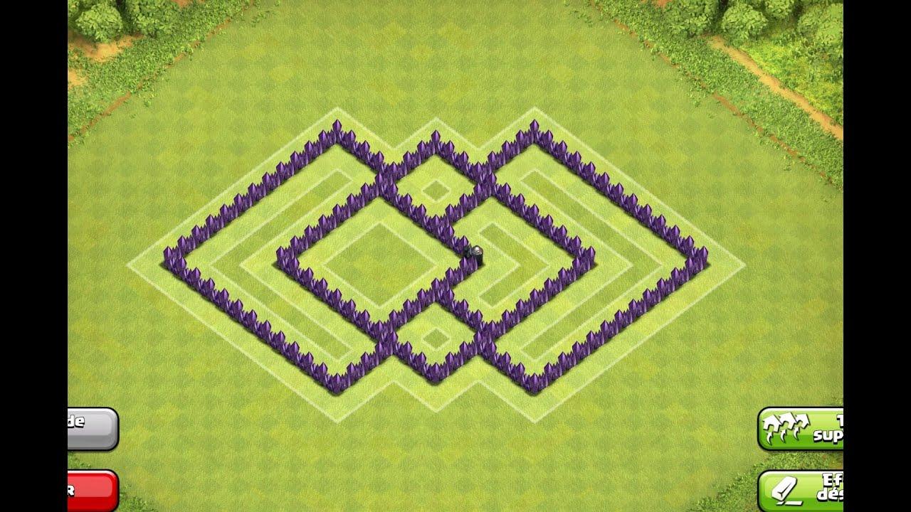 Best th6 farming base coc