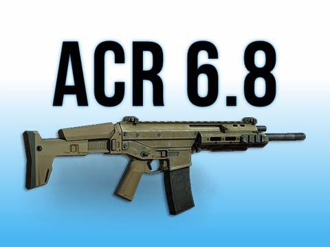 MW3 In Depth - ACR 6.8 Assault Rifle & Charity Xbox360 Update